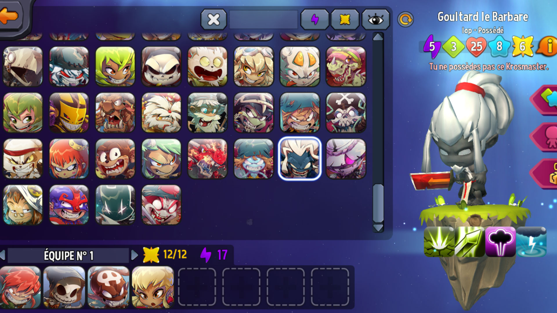 Krosmaster - Goultard Pack screenshot