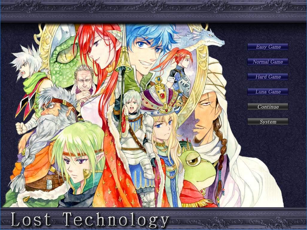 Lost Technology screenshot