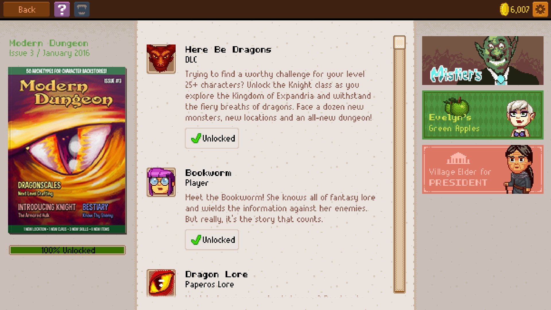 Knights of Pen and Paper 2 - Here Be Dragons screenshot