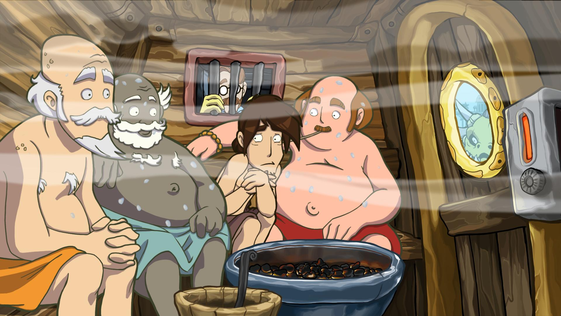 Deponia Doomsday screenshot