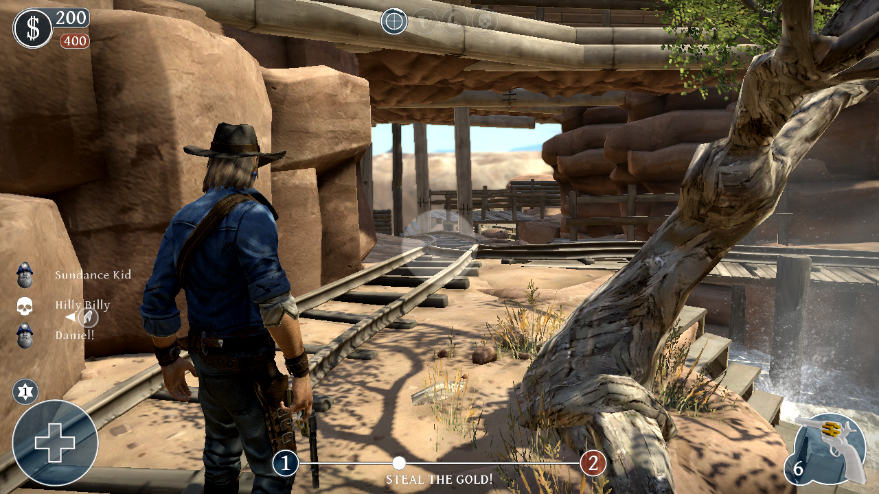 Lead and Gold: Gangs of the Wild West screenshot