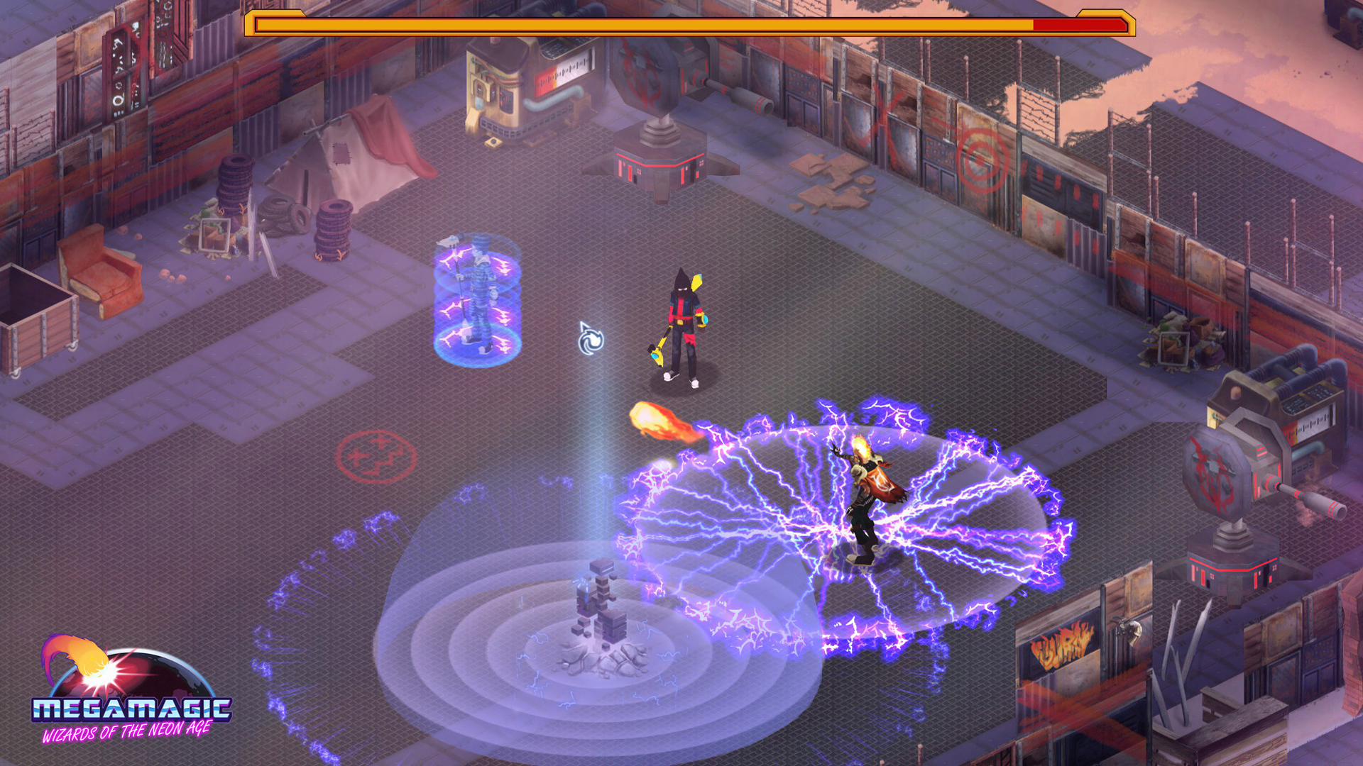 Megamagic: Wizards of the Neon Age screenshot
