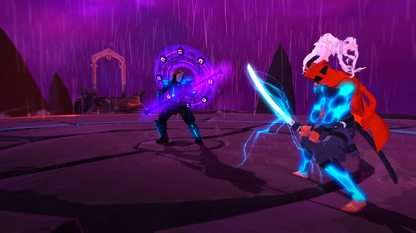 Furi's combat is as stylish as its presentation