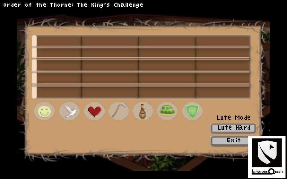 The Order of the Thorne - The King's Challenge (Infamous Quests) (ENG) [L]
