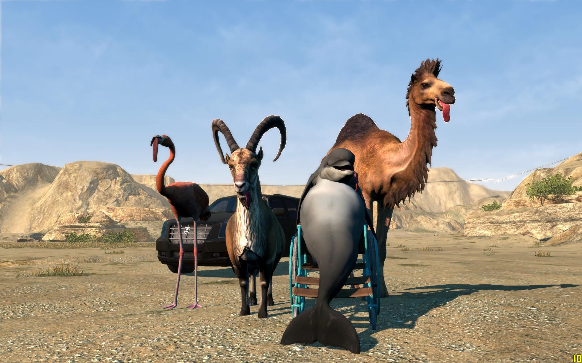 Goat Simulator: Payday 2 DLC