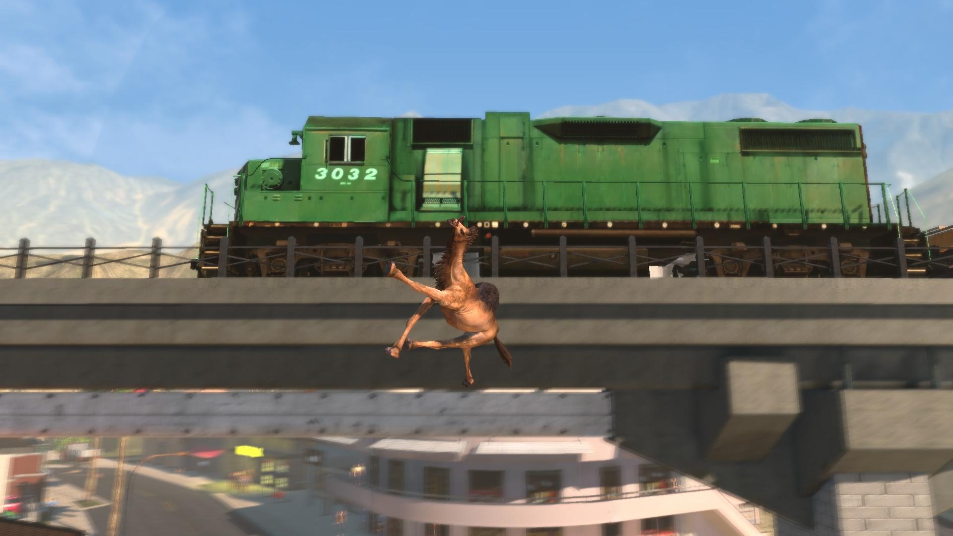 Goat Simulator: PAYDAY screenshot