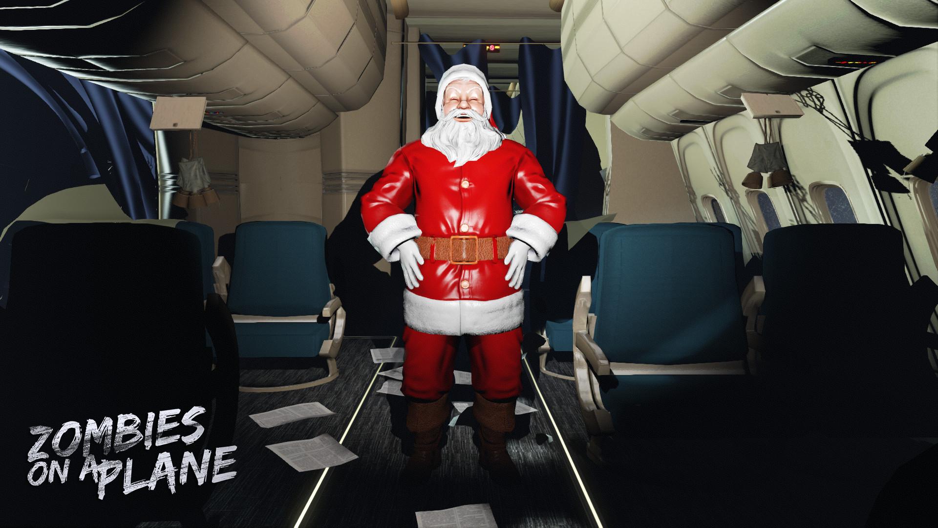Zombies on a Plane - Santa screenshot
