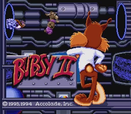 Bubsy Two-Fur screenshot