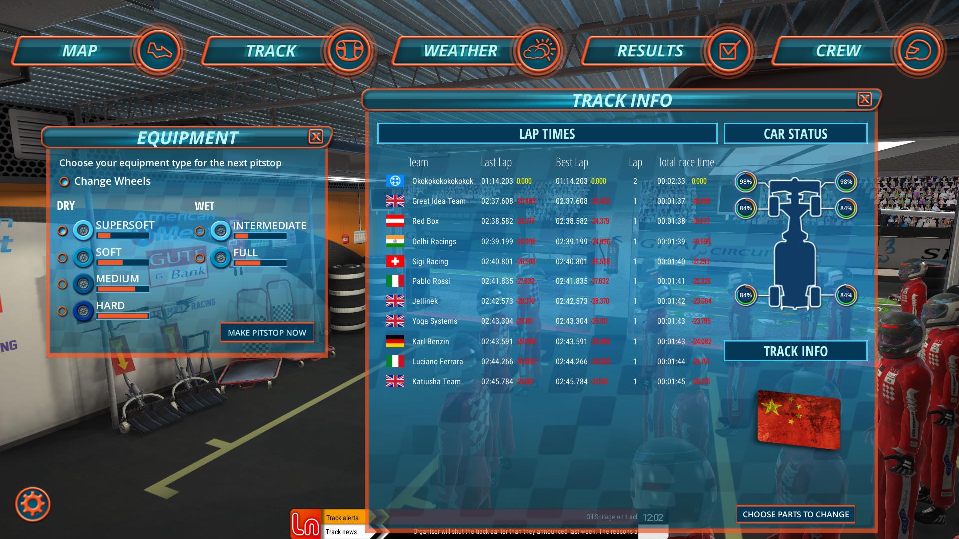 Pitstop Challenge screenshot