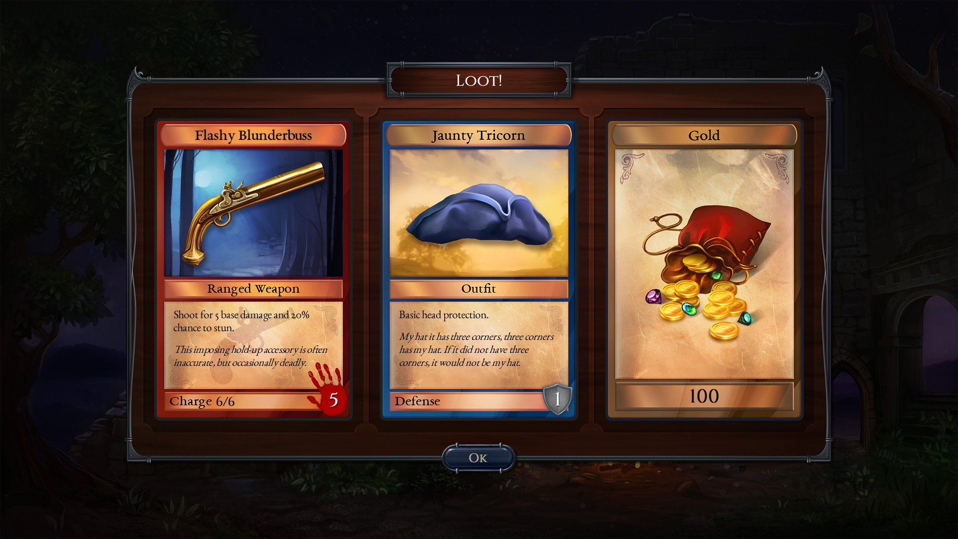 Shadowhand: RPG Card Game screenshot