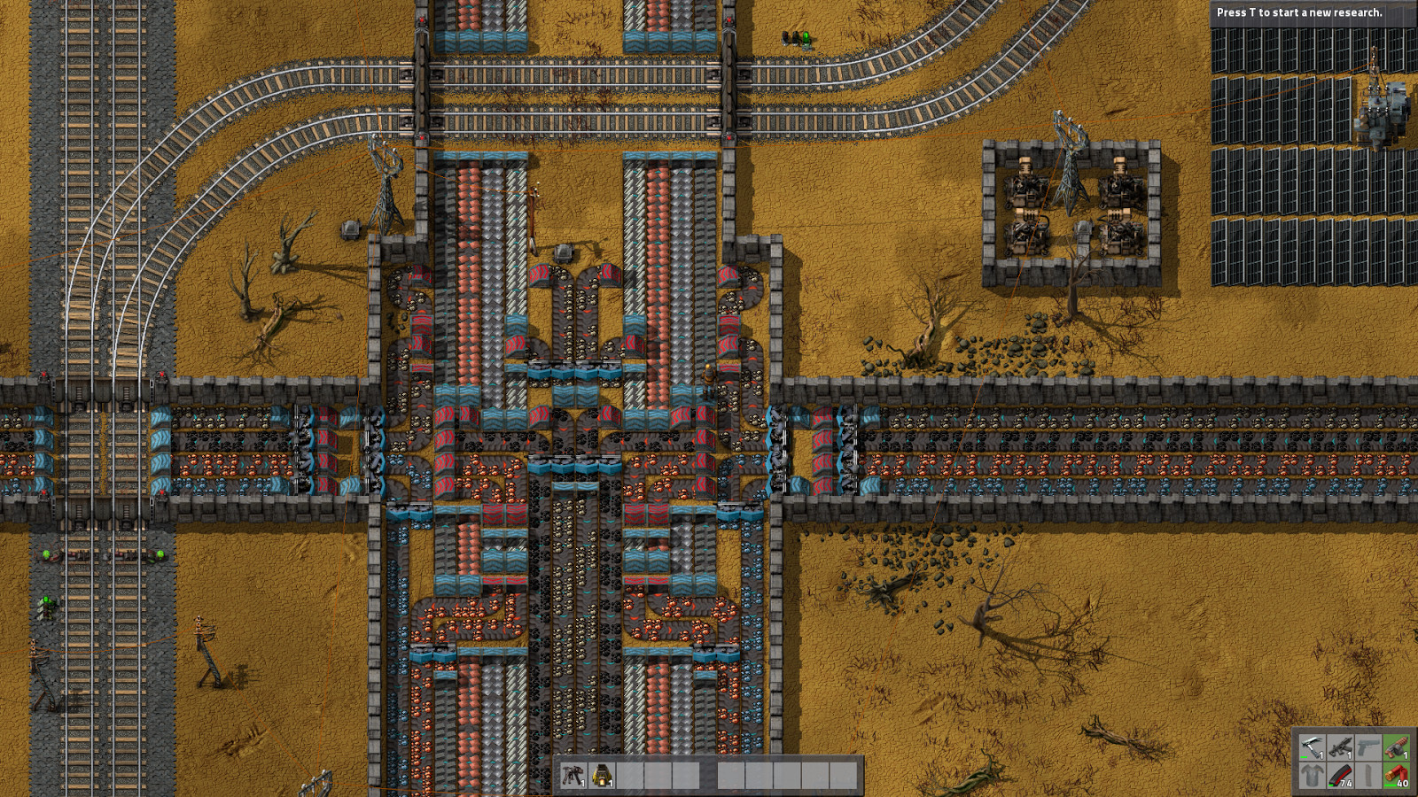 Concrete Crafting Blueprint Factorio