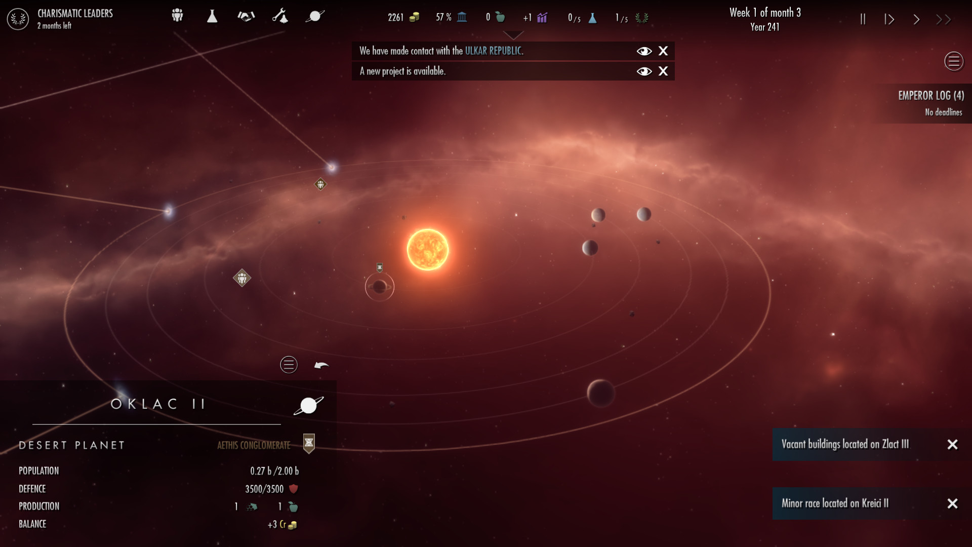 Dawn of Andromeda screenshot