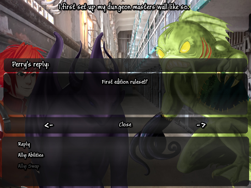 Army of Tentacles: (Not) A Cthulhu Dating Sim screenshot