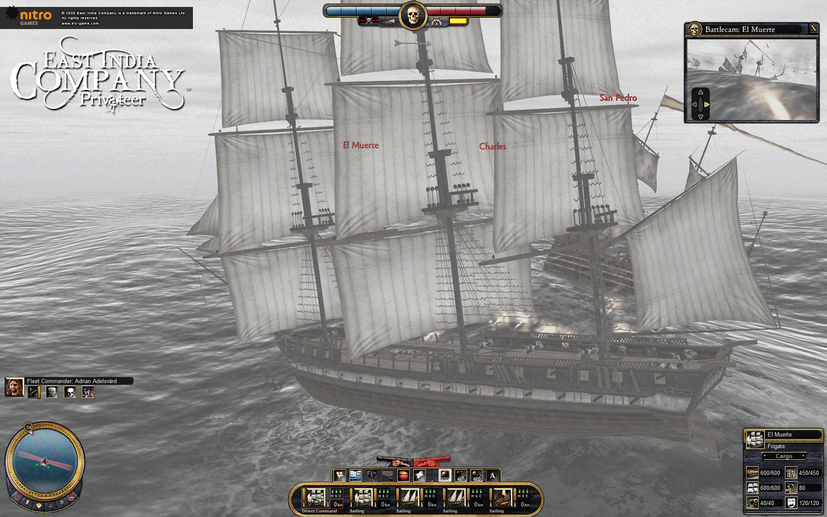 East India Company: Privateer screenshot