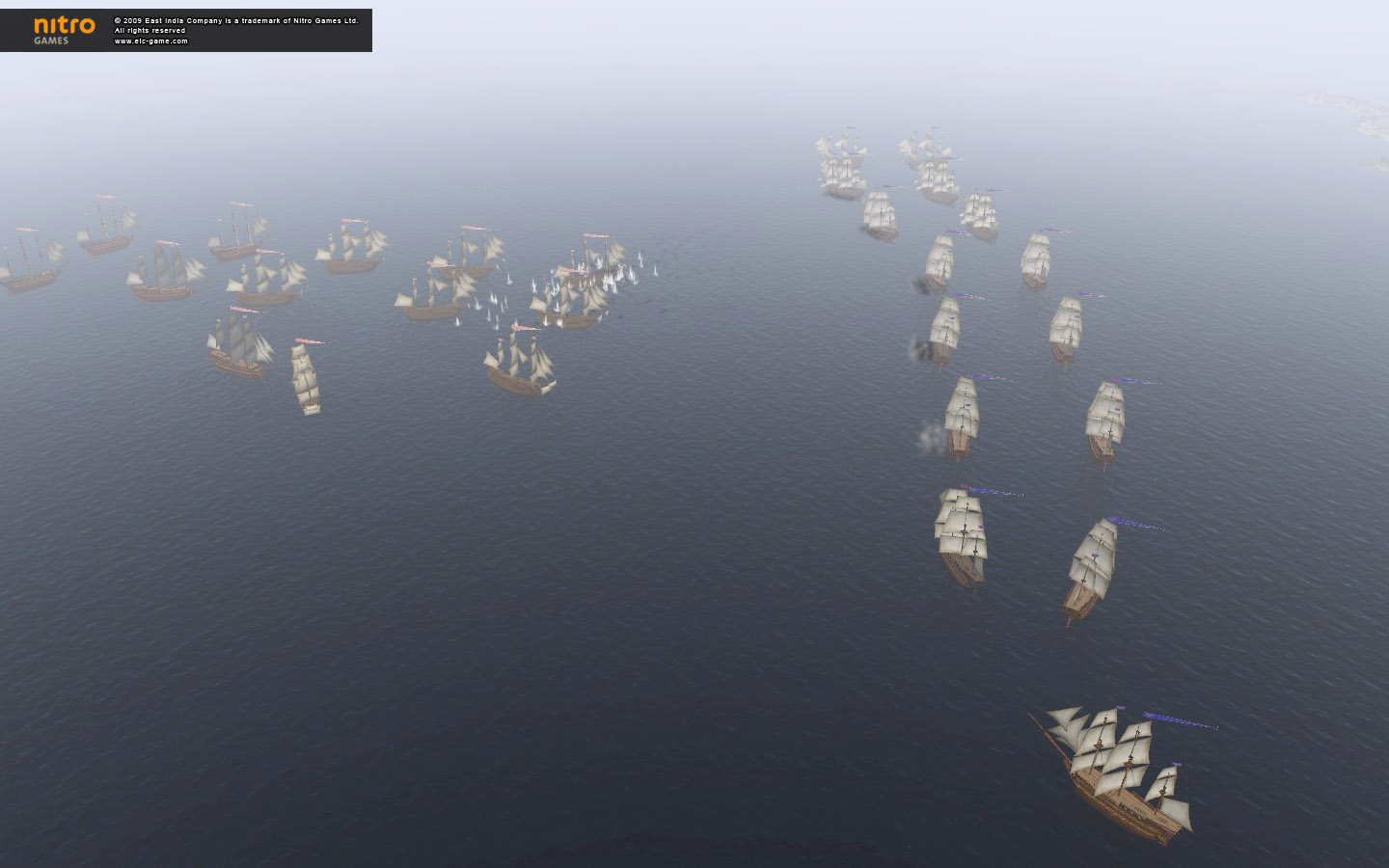 East India Company: Battle of Trafalgar screenshot