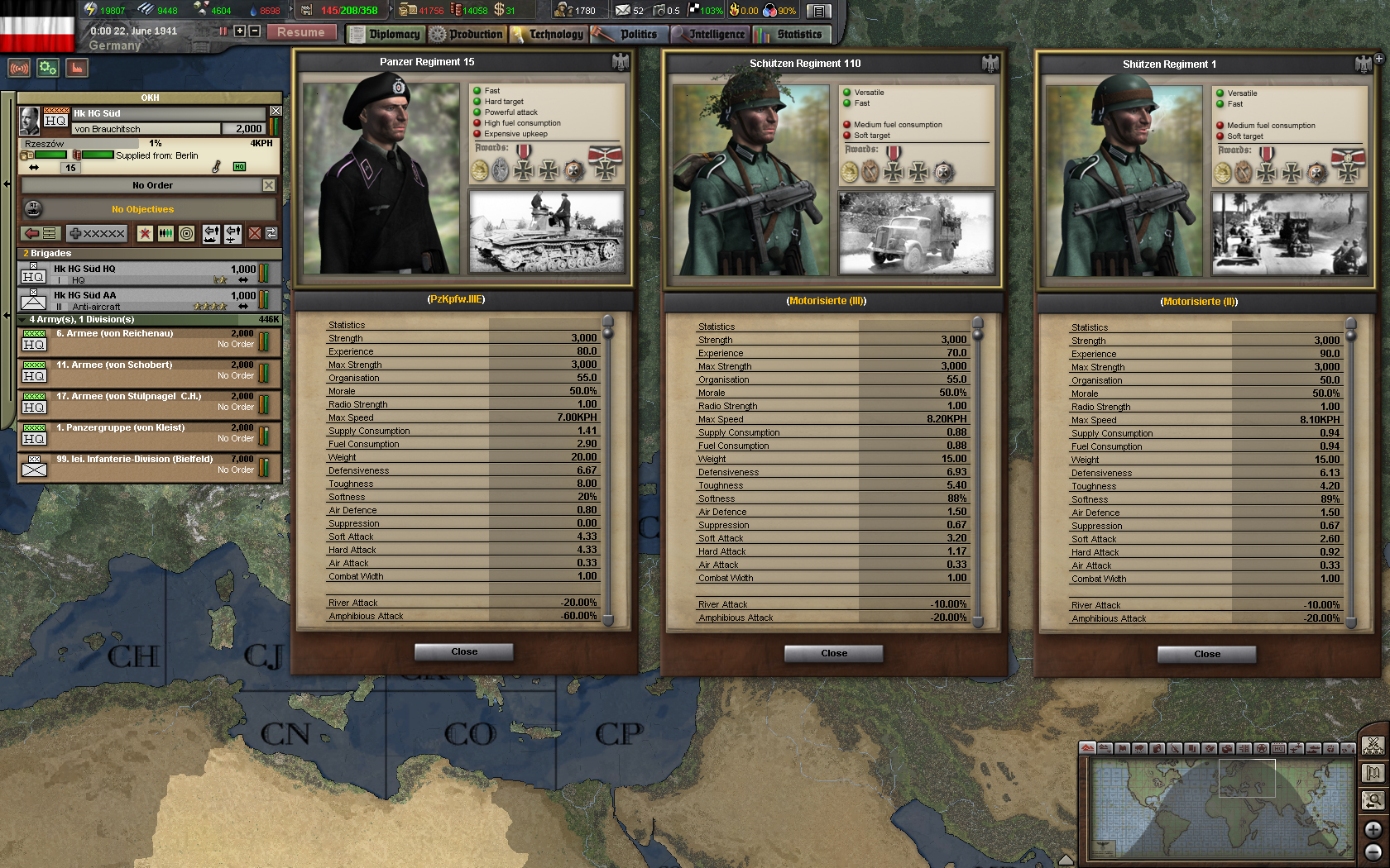 Hearts of Iron III Semper Fi: Dies Irae Götterdämmerung screenshot