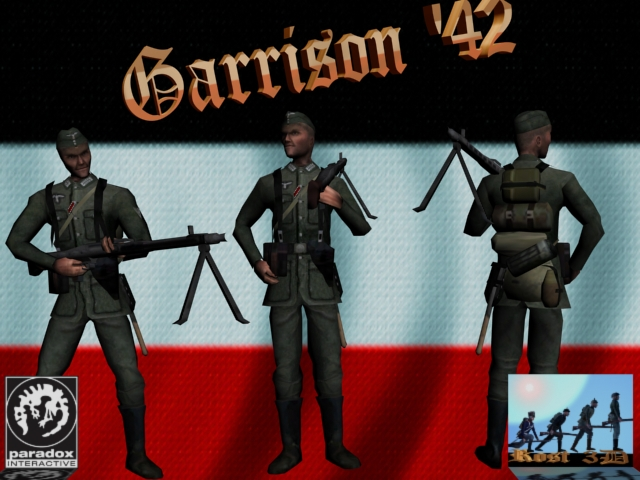 Hearts of Iron III: Mega German Spritepack screenshot