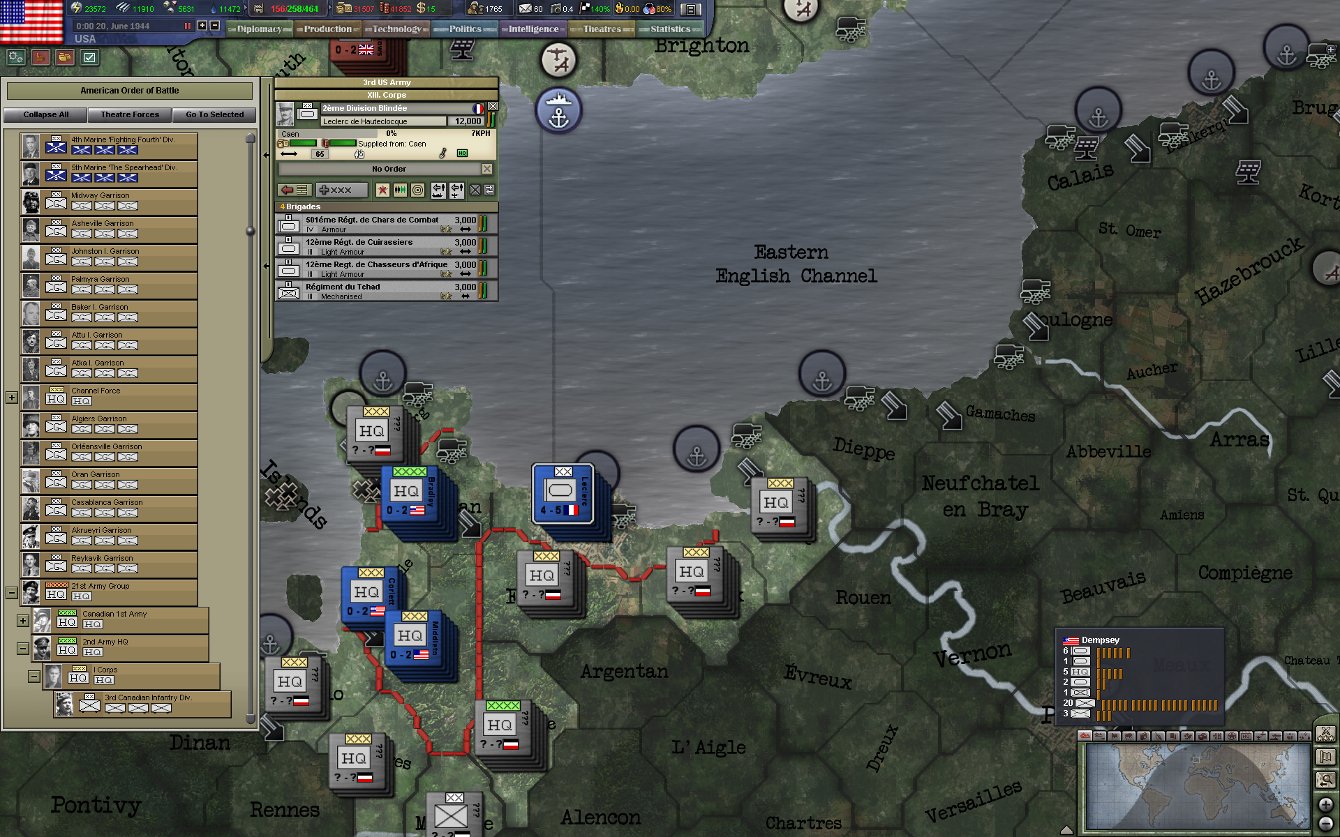 Hearts of Iron III: Dies Irae Stars & Stripes Spritepack screenshot