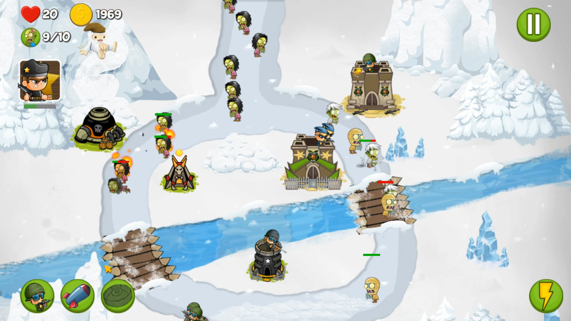Zombie Wars: Invasion screenshot