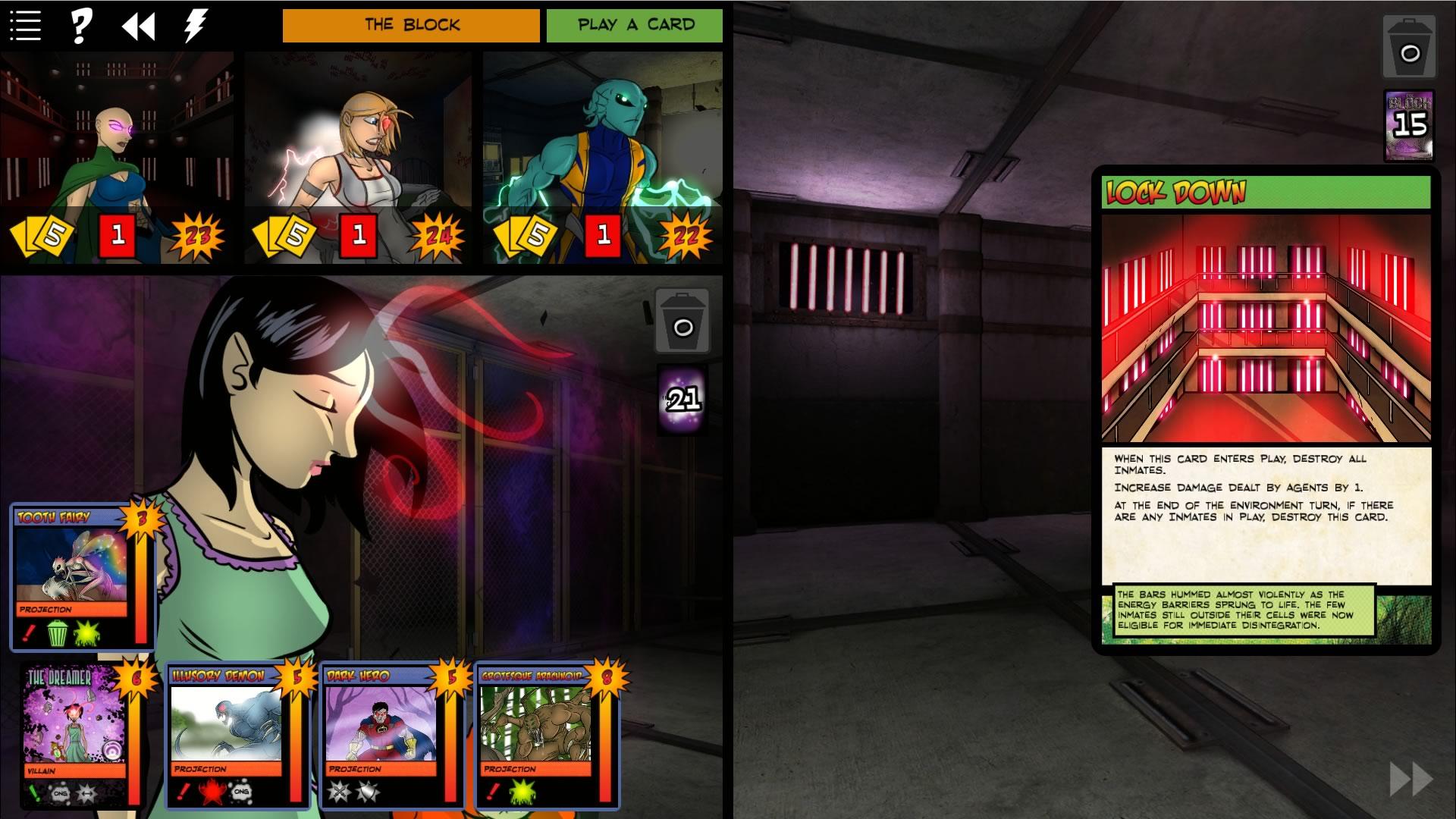 Sentinels of the Multiverse - Shattered Timelines screenshot