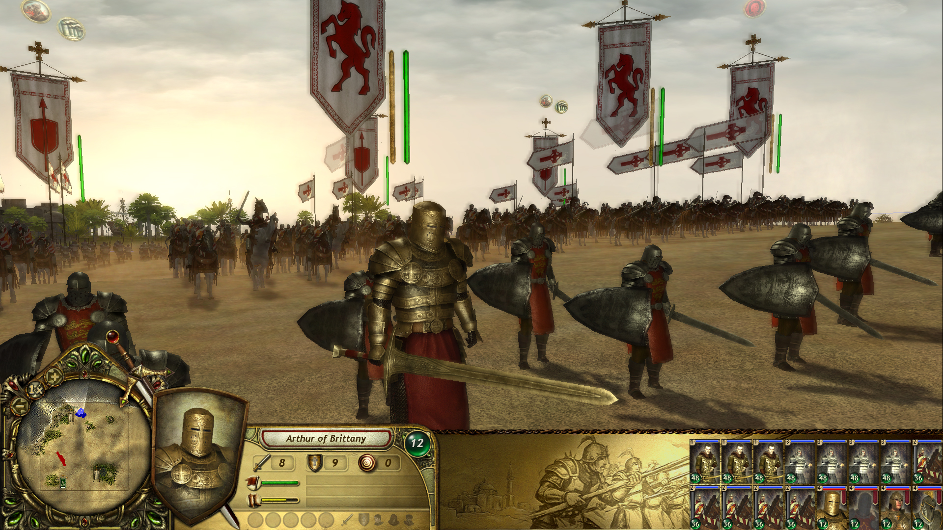 The Kings' Crusade: New Allies screenshot