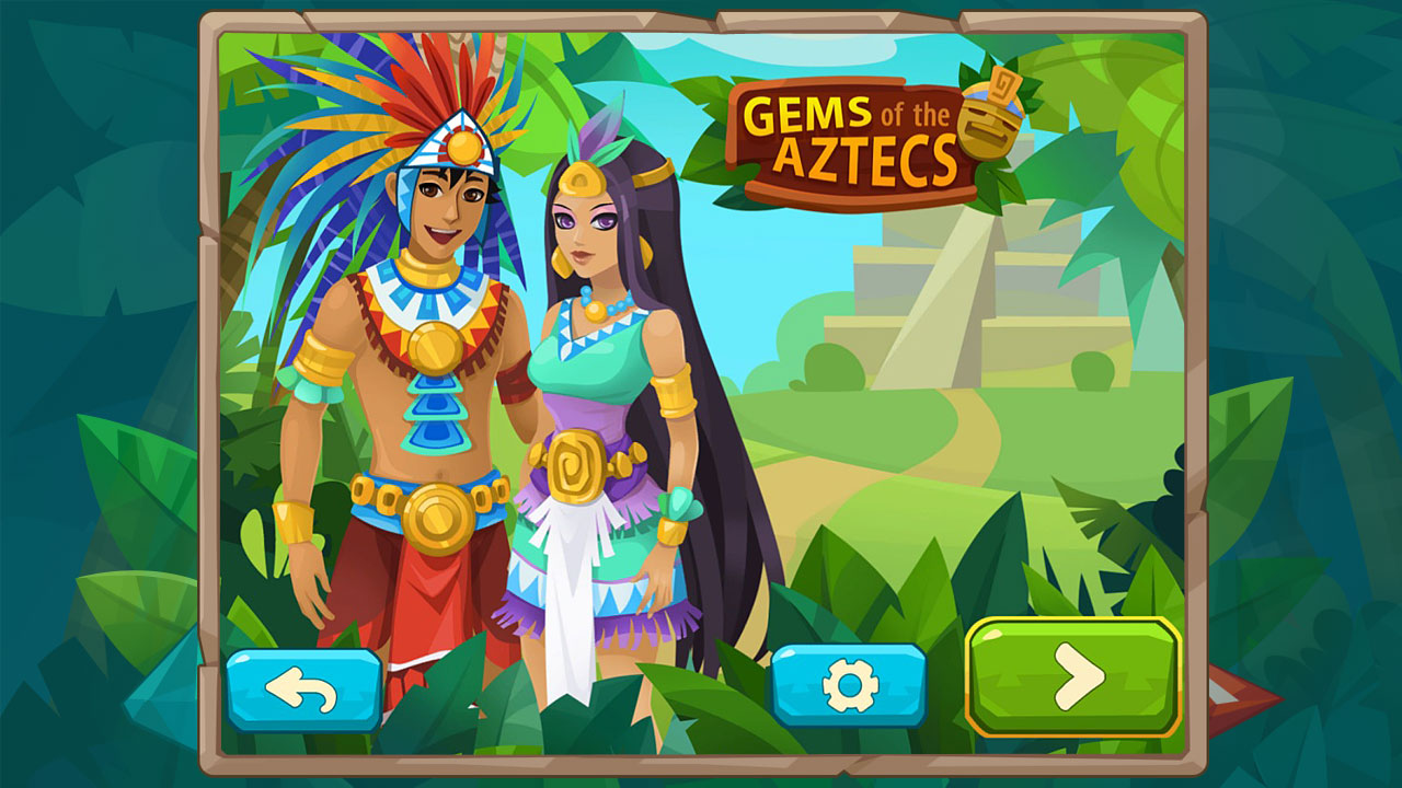 Gems of the Aztecs screenshot