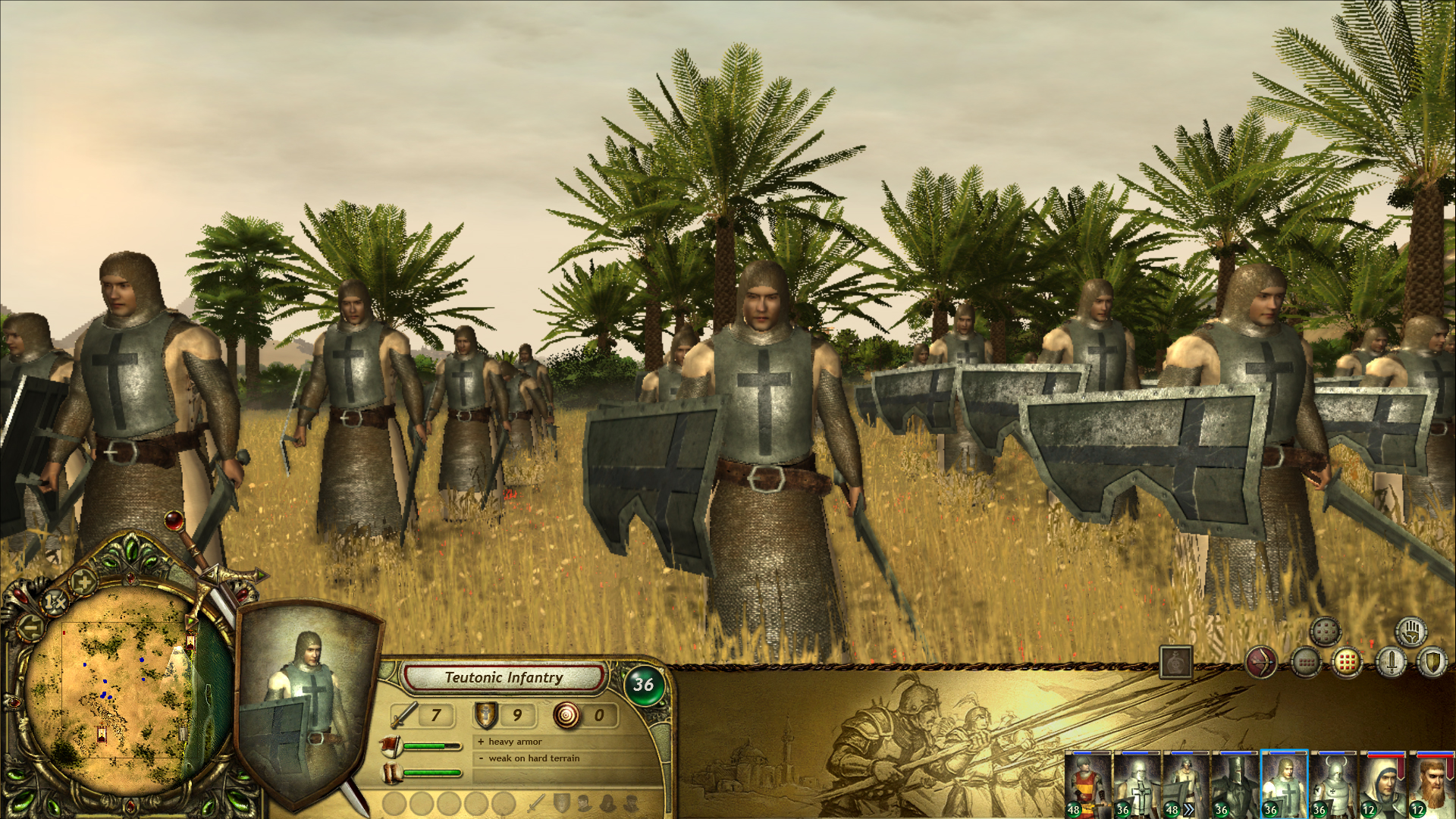 The Kings' Crusade: Teutonic Knights screenshot