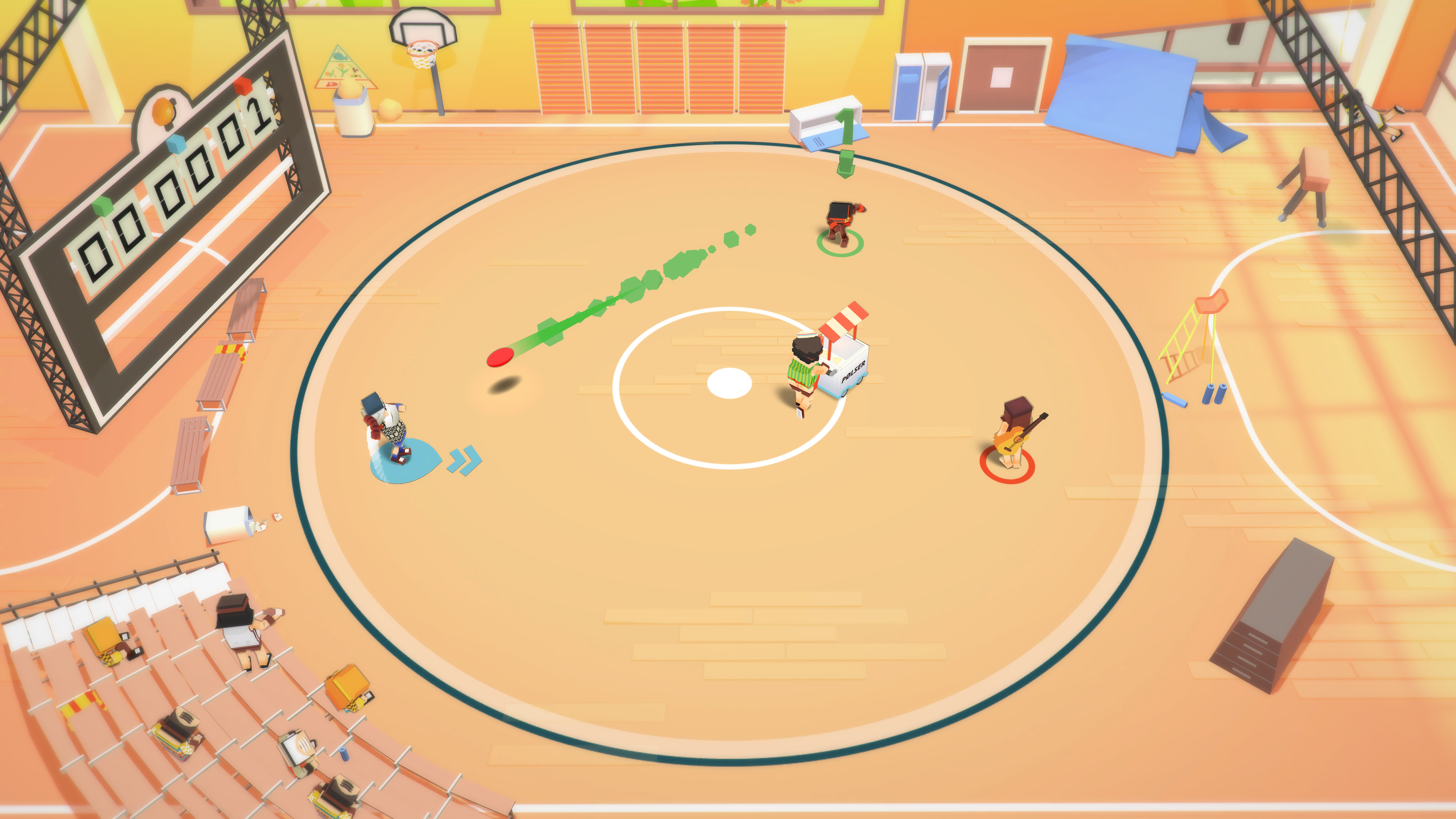 Stikbold! A Dodgeball Adventure screenshot