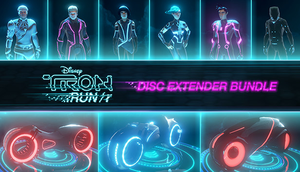 TRON RUNr DISC Extender Bundle Repack Small Size Highly Compressed