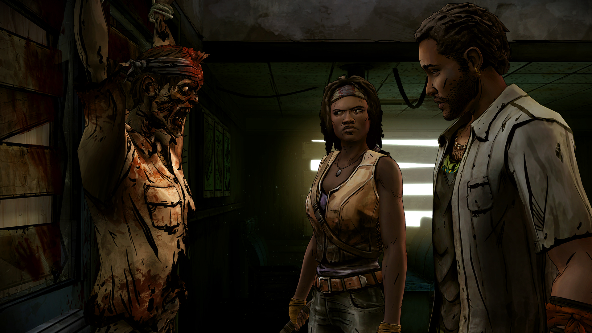 The Walking Dead: Michonne screenshot 2