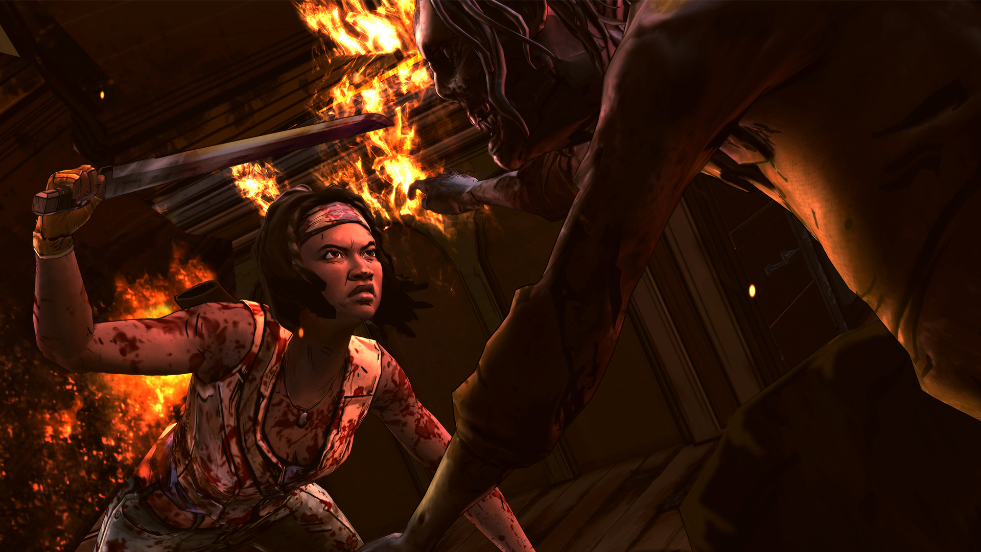 The Walking Dead: Michonne (RUS|ENG|MULTI7) [RePack] от R.G. Механики