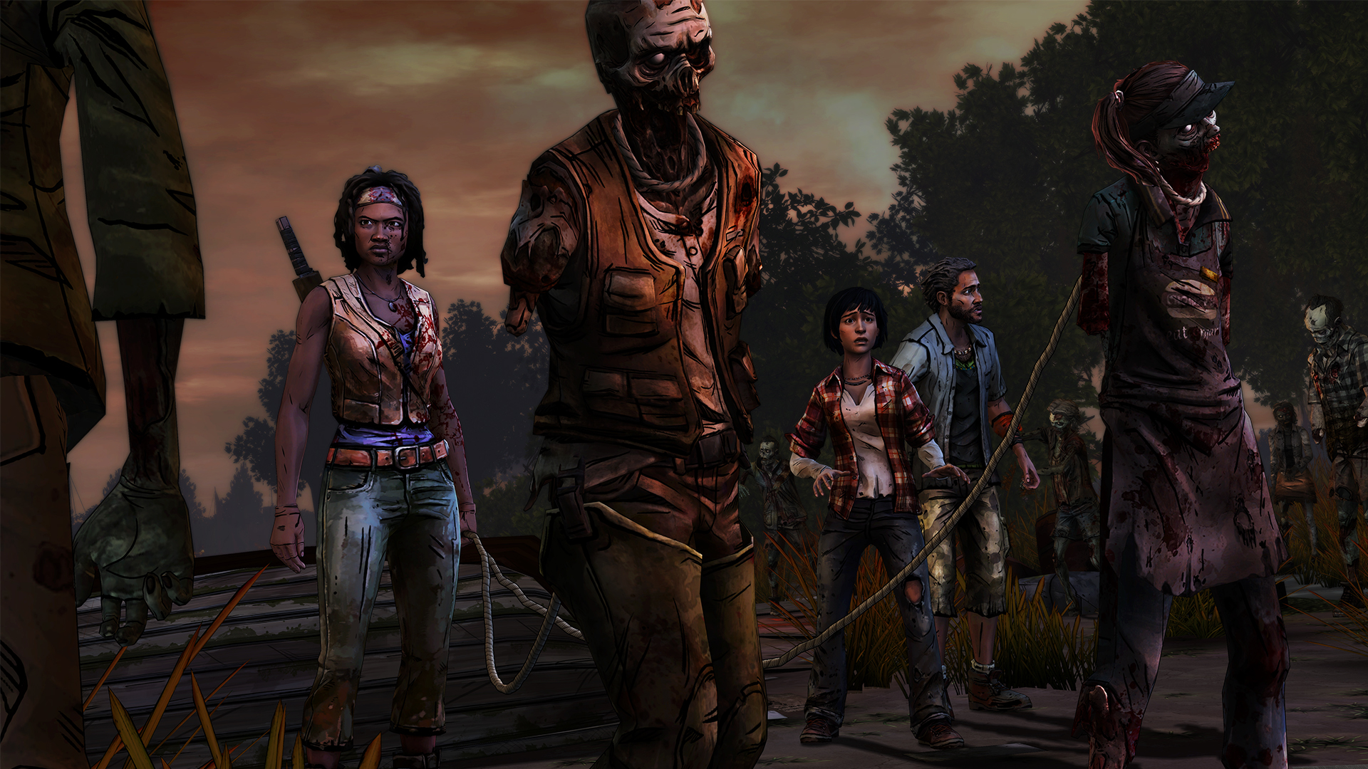 The Walking Dead: Michonne [GoG] [2016|Rus|Eng|Multi7]