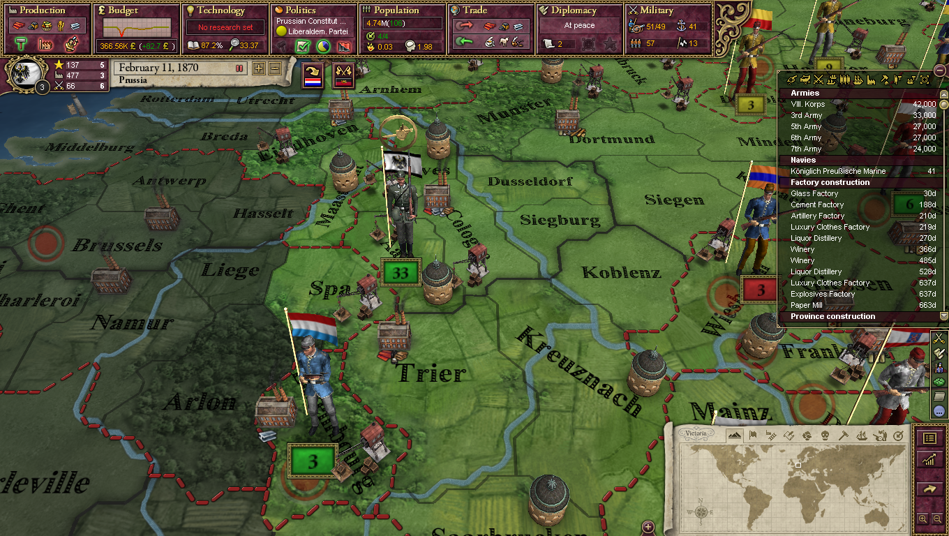 Victoria II: Interwar Artillery Sprite Pack screenshot