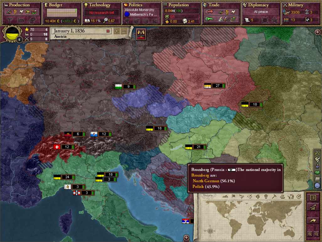 Victoria II: A House Divided screenshot