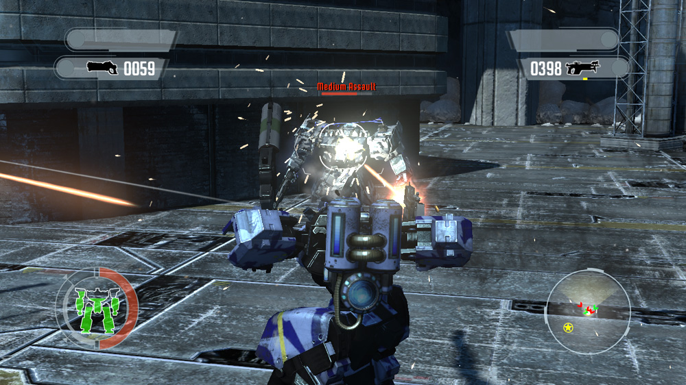 Front Mission Evolved: Wanzer Pack 2 screenshot