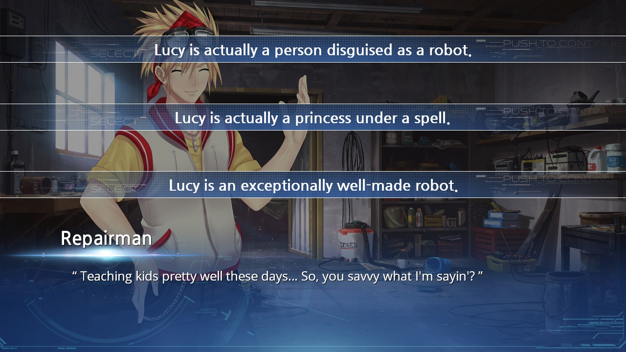 Lucy -The Eternity She Wished For- screenshot