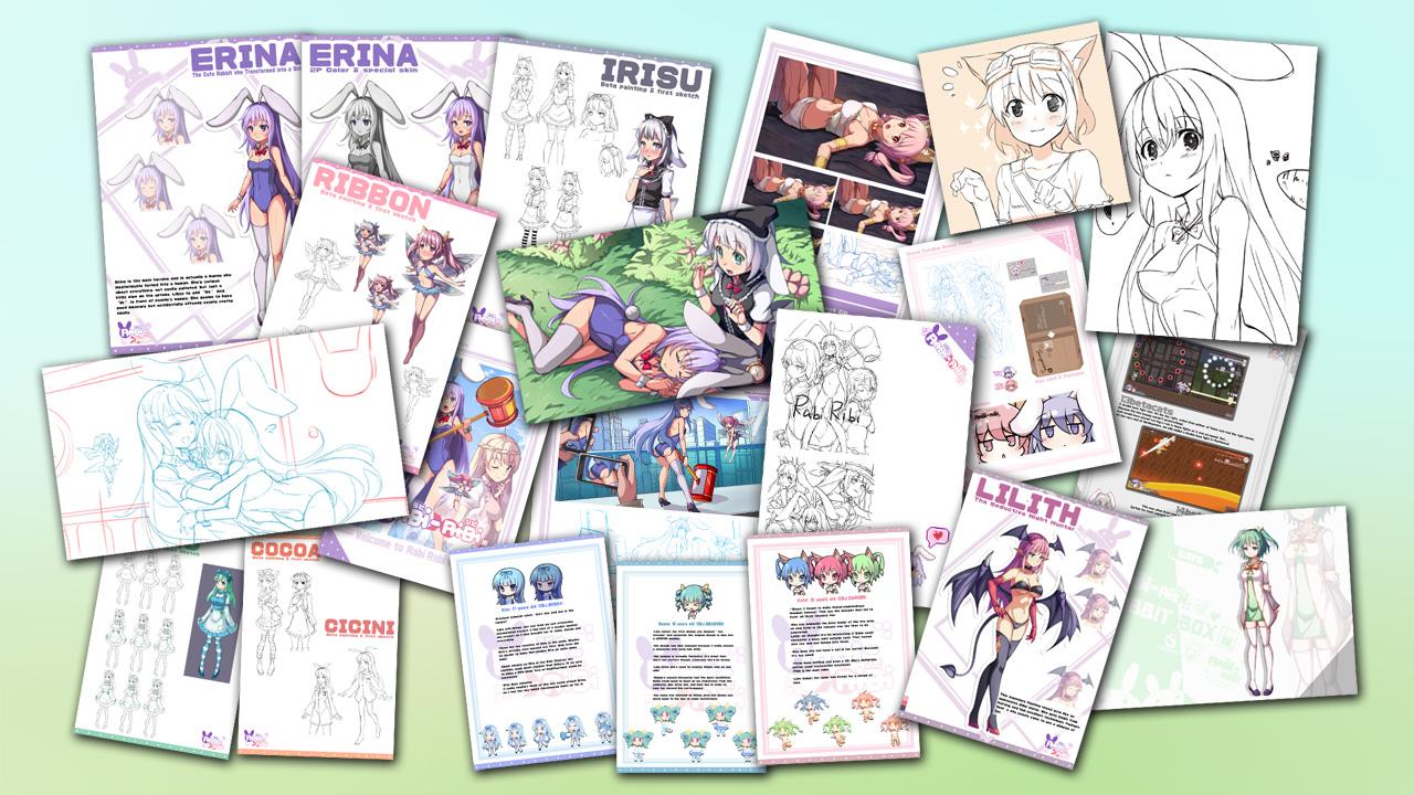 Rabi-Ribi - Digital Artbook screenshot