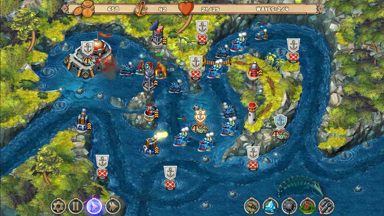 Iron Sea Defenders screenshot