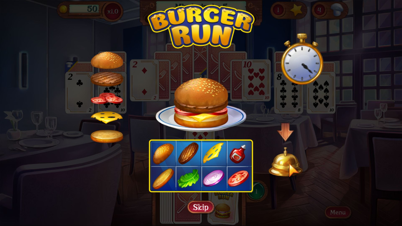 Chef Solitaire: USA screenshot