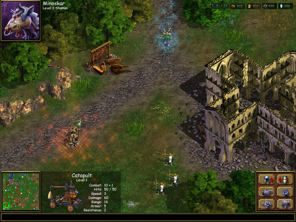 Warlords Battlecry III screenshot