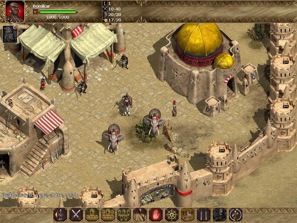 Nemesis of the Roman Empire screenshot