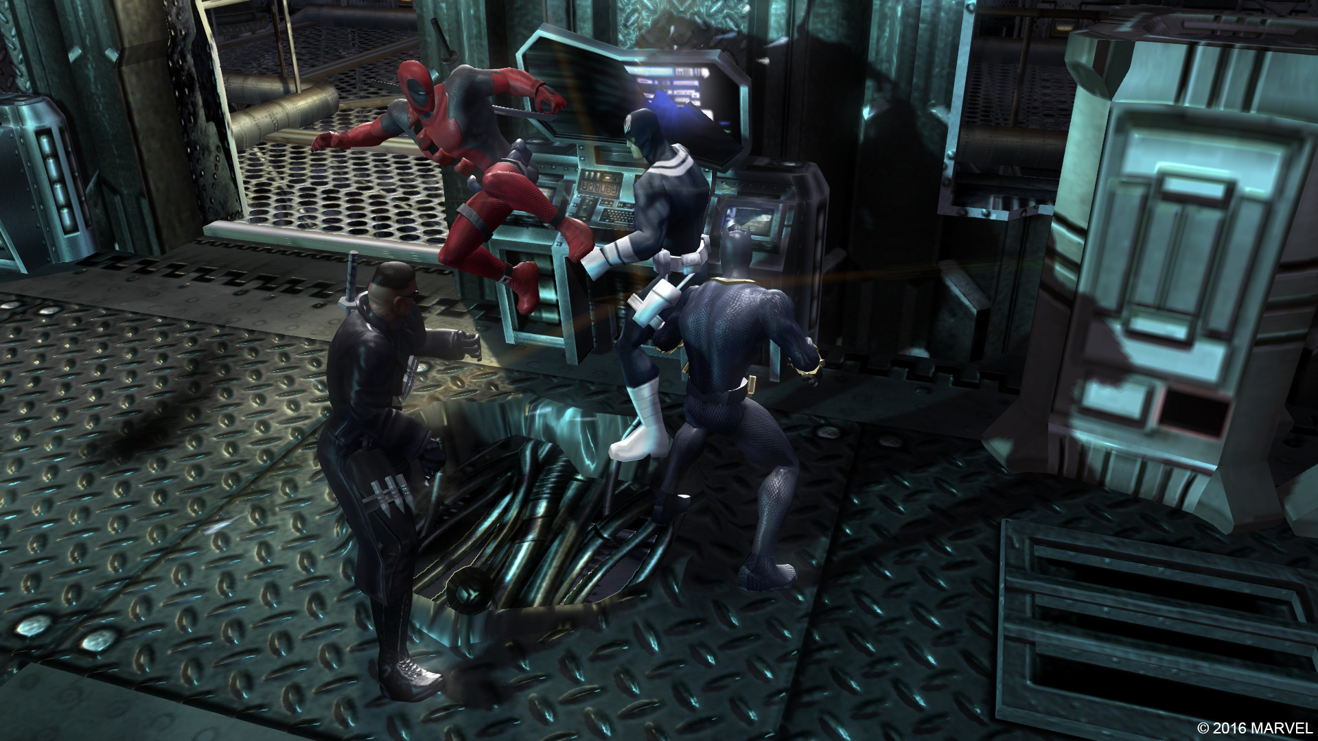 Marvel Ultimate Alliance ScreenShot 2