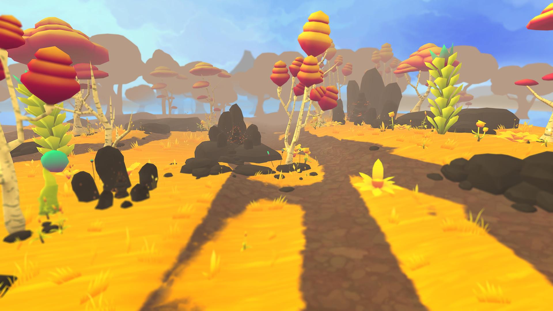 Puzzle VR game