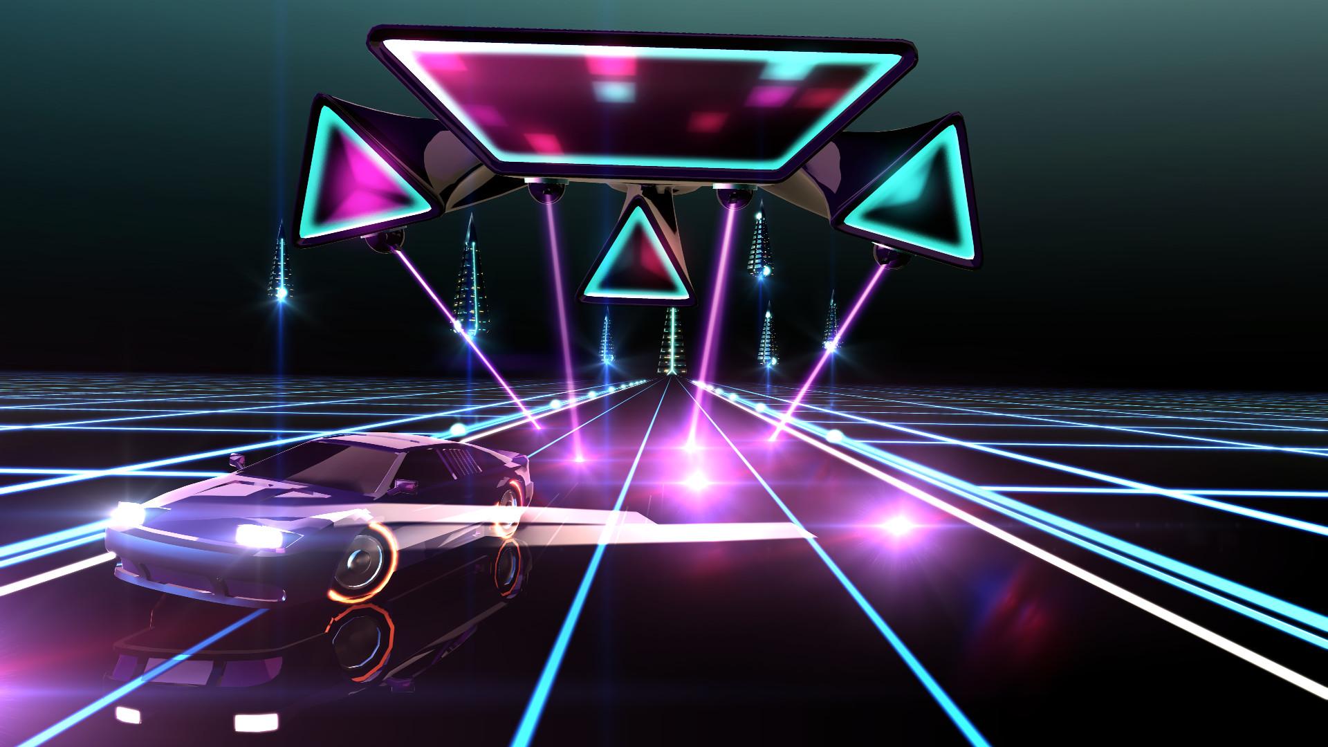 Neon Drive screenshot