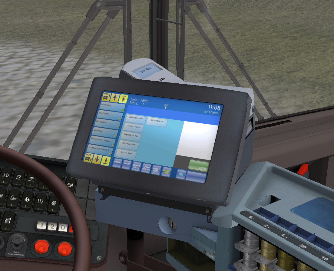 OMSI 2 Add-On Citybus O405/O405G screenshot