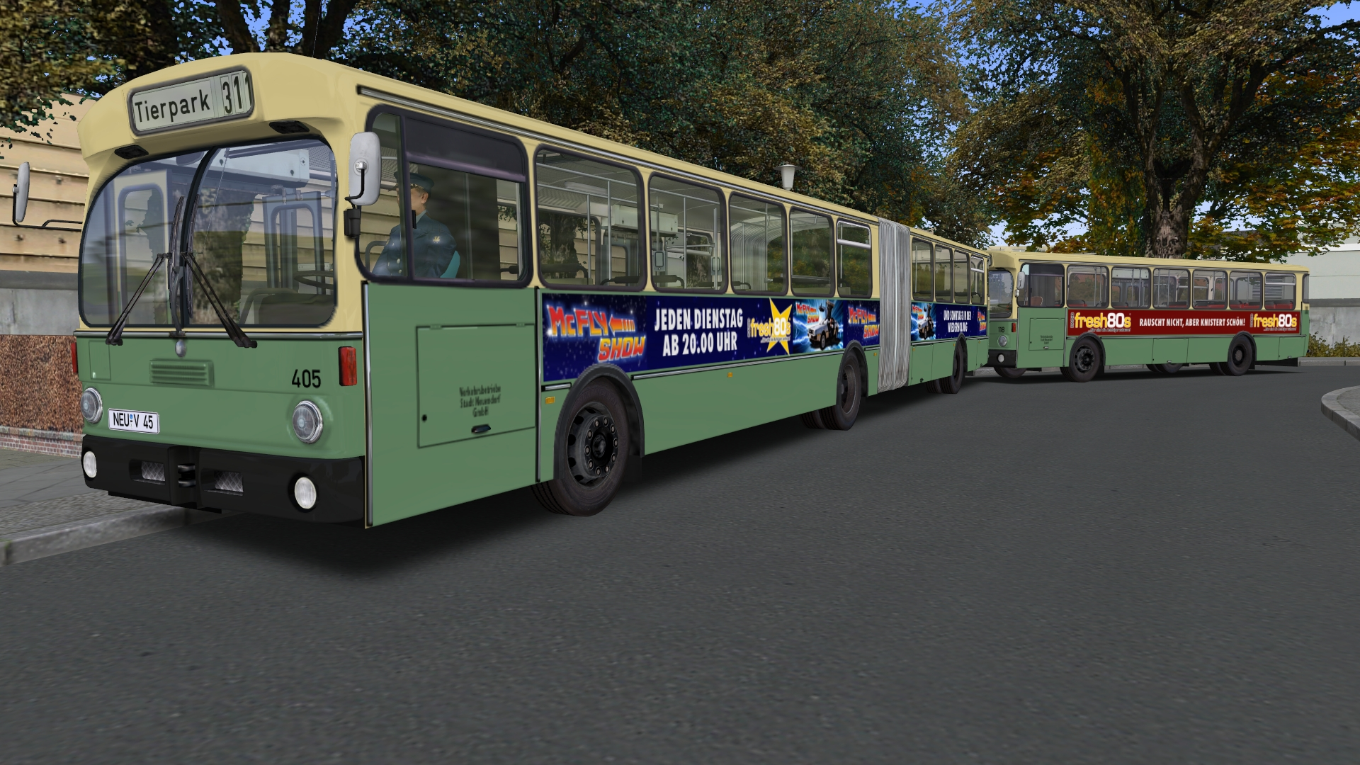 OMSI 2 Add-On Citybus O305G screenshot