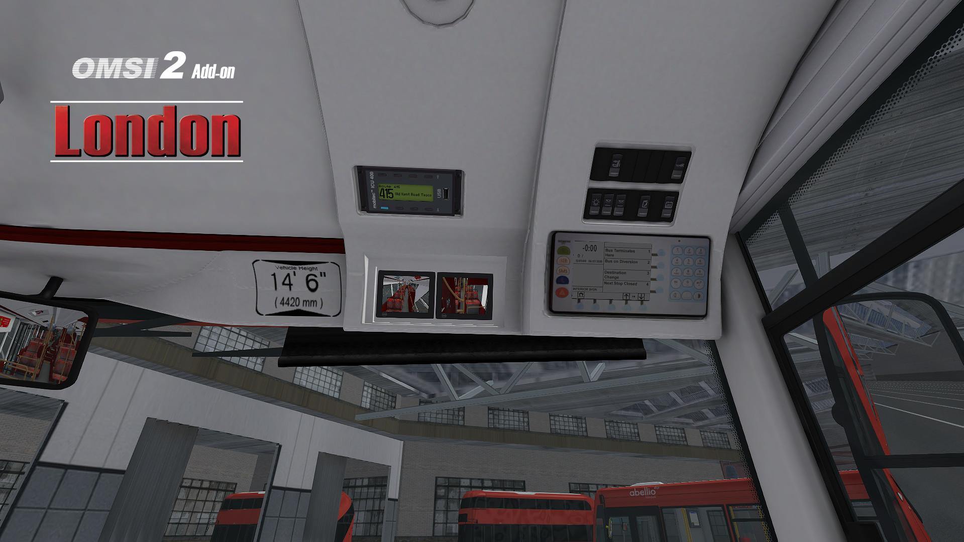 OMSI 2 Add-On London screenshot