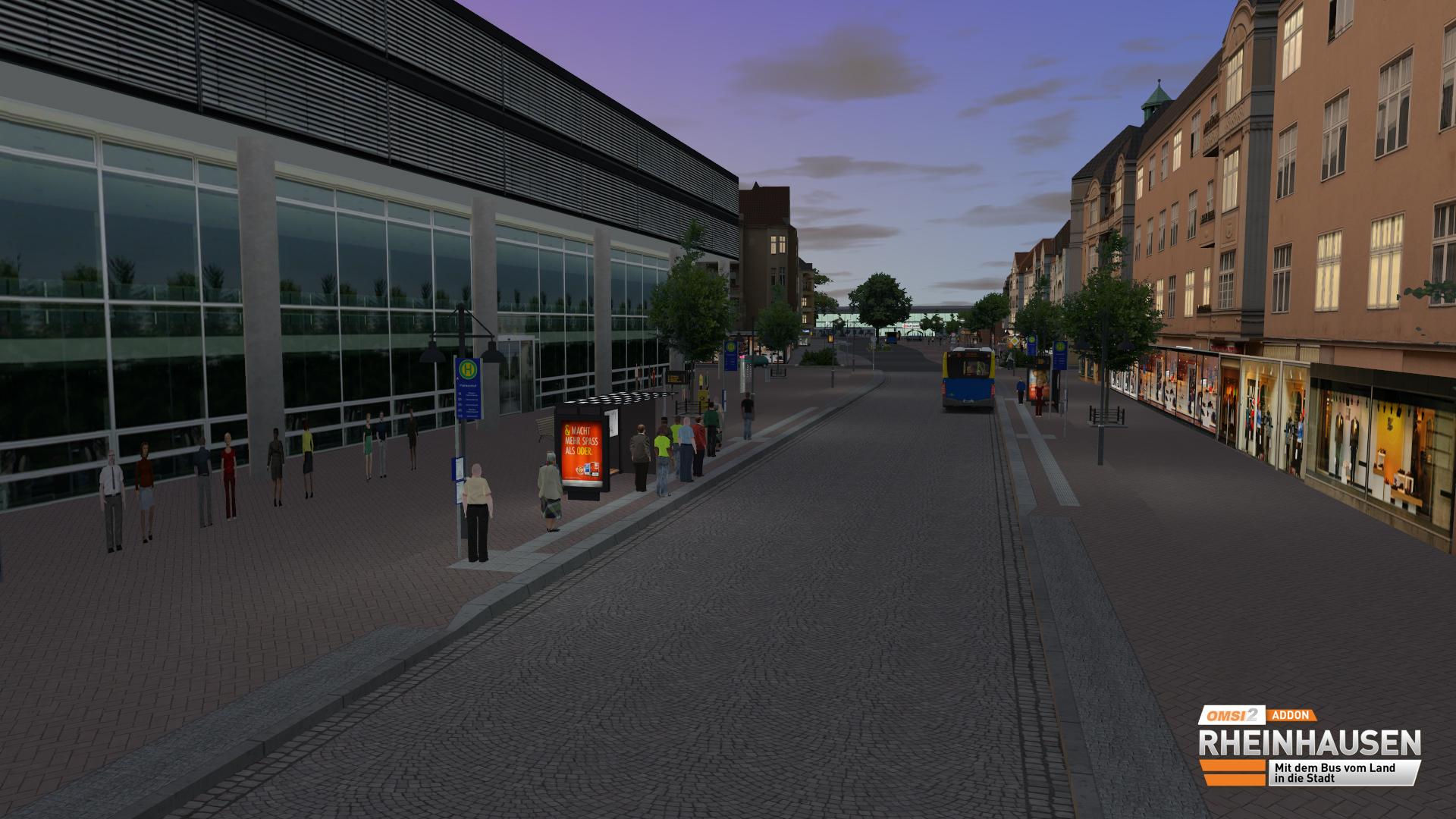 OMSI 2 Add-on Rheinhausen screenshot
