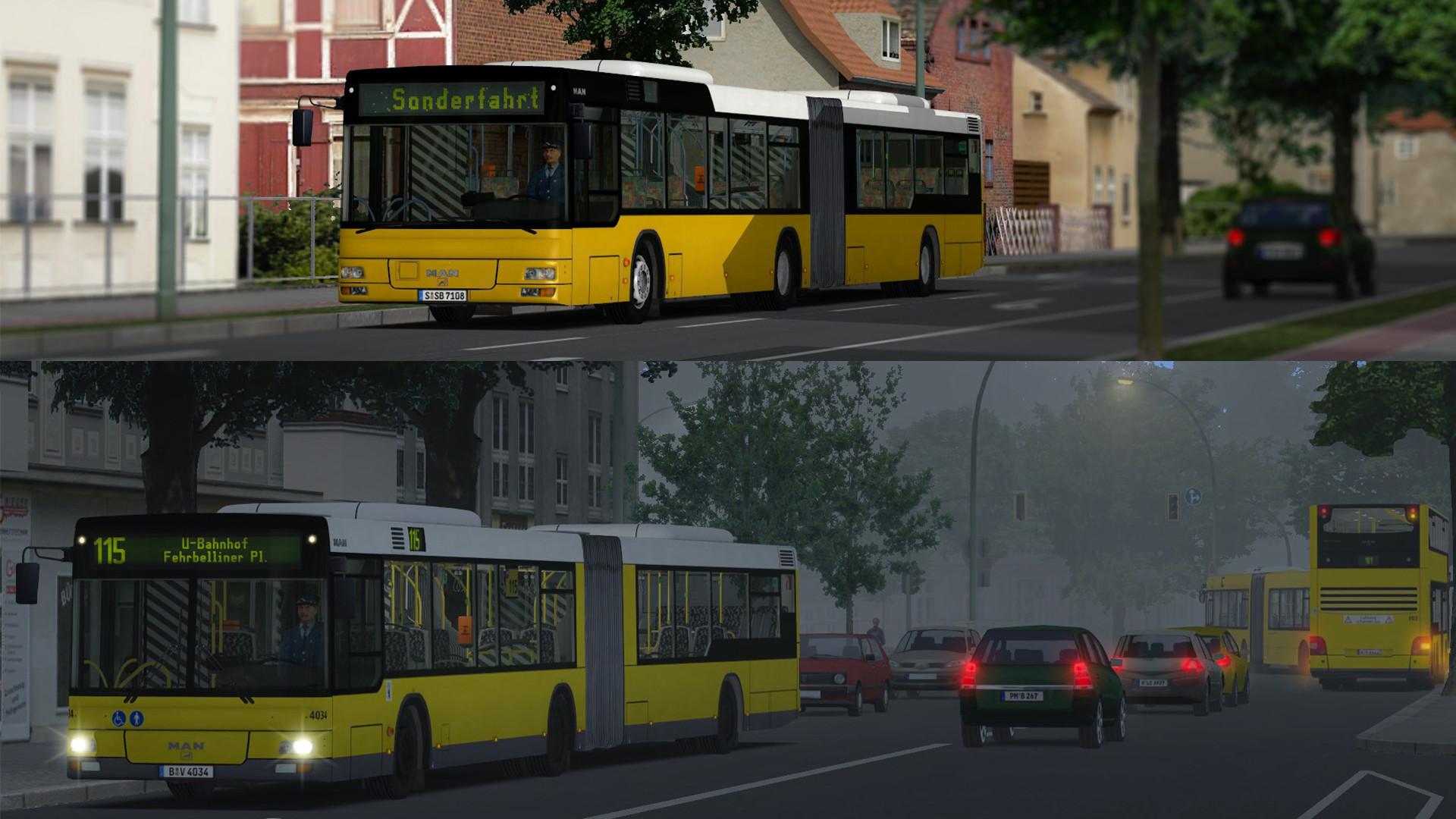 OMSI 2 Add-On MAN Citybus Series screenshot