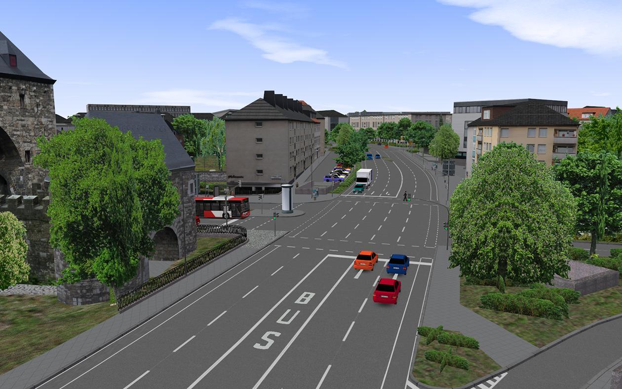 OMSI 2 Add-On Aachen screenshot